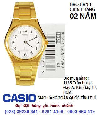 Casio MTP-1130N-7BRDF; Đồng hồ Nam Casio MTP-1130N-7BRDF chính hãng| Bảo hành 2 năm