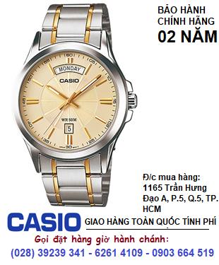 Casio MTP-1381G-9AV; Đồng hồ Casio MTP-1381G-9AV chính hãng| Bảo hành 2 năm
