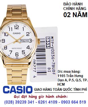 Casio MTP-V003G-7AUDF; Đồng hồ Casio MTP-V003G-7AUDF chính hãng| HẾT HÀNG