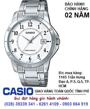 Casio  MTP-V004D-7BUDF; Đồng hồ Nam Casio MTP-V004D-7BUDF chính hãng| Bảo hành 2 năm