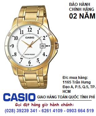 Casio MTP-V004G-7BUDF; Đồng hồ Nam Casio MTP-V004G-7BUDF chính hãng| Bảo hành 2 năm