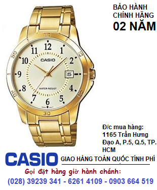 Casio MTP-V004G-9BUDF, Đồng hồ Nam Casio MTP-V004G-9BUDF chính hãng| Bảo hành 2 năm