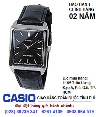 Casio MTP-V007L-1E; Đồng hồ Nam Casio MTP-V007L-1E dây da chính hãng| Bảo hành 2 năm