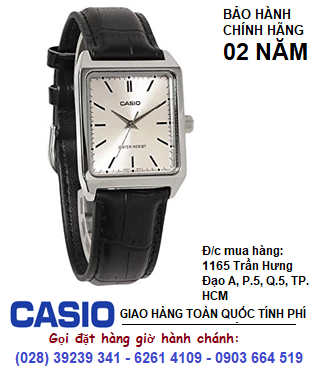 Casio MTP-V007L-7E1; Đồng hồ Nam Casio MTP-V007L-7E1 dây da chính hãng| HẾT HÀNG