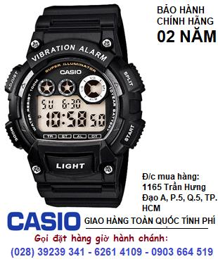Casio W-735H-1AVDF; Đồng hồ Casio W-735H-1AVDF chính hãng| Bảo hành 2 năm