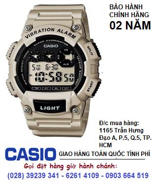 Casio W-735H-8A2VDF; Đồng hồ điện tử Casio W-735H-8A2VDF chính hãng| Bảo hành 2 năm