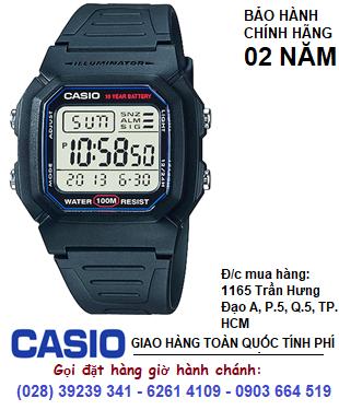 Casio W800H-1AVDF; Đồng hồ điện tử Casio W800H-1AVDF chính hãng | Bảo hành 2 năm