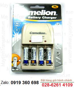 Bộ sạc pin AAA Camelion BC-0904SM kèm sẳn 4 pin sạc Camelion AAA1100mAh Lockbox 1.2v