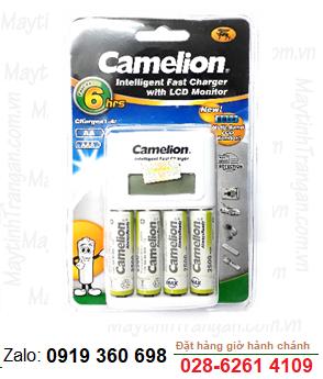 Bộ sạc pin AA Camelion BC-1012 kèm sẳn 4 pin sạc Camelion AlwaysReady AA2500mAh 1.2v