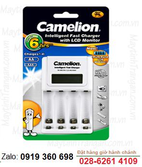 Máy sạc nhanh có màn hình LCD Camelion BC-1012- sạc pin 4 pin AA/AAA chính hãng