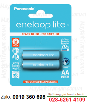 EneloopLite BK-3LCCE/2BT; Pin sạc AA 1000mAh 1.2v EneloopLite BK-3LCCE/2BT