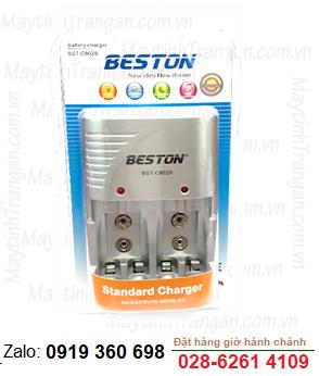 Máy sạc pin AA, AAA, 9V Beston BST-C802B chính hãng Beston |HẾT HÀNG