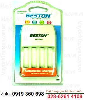 Máy sạc pin AA, AAA Beston BST-C805 chính hãng Beston - Bảo hành 1 năm