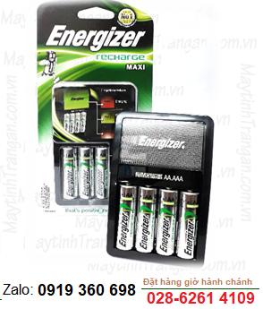Bộ sạc pin AA tự ngắt  Energizer CHVCM4 kèm 4 pin sạc Energizer AA2000mAh 1.2v