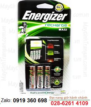 Energizer CHVCM4 - Bộ sạc Pin AA  4 rảnh, kèm sẳn 4 pin sạc Energizer AA2300mAh 1.2v Made in Japan
