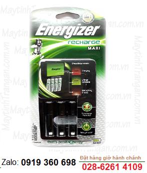 Máy sạc pin AA,AAA Energizer CHVCM4 - loại chưa kèm pin | 4 rảnh sạc được 2 đến 4 pin AA,AAA