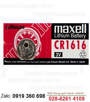 Pin Maxell CR1616 lithium 3V chính hãng Maxell Nhật