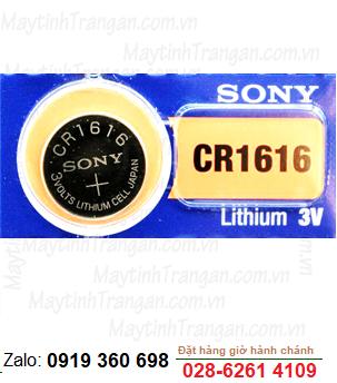 Pin Sony CR1616 lithium 3V chính hãng Sony
