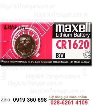 Pin Maxell CR1620 lithium 3V chính hãng Maxell Nhật