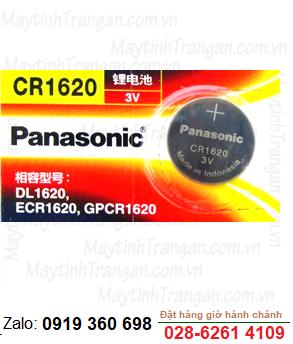 Pin 3V Lithium Panasonic CR1620 chính hãng Panasonic Nhật