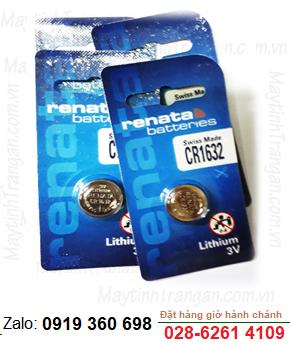 Pin Renata CR1632 lithium 3V chính hãng Renata Thụy Sĩ