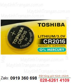 Pin 3V lithium Toshiba CR2016 chính hãng Toshiba