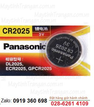 Pin Panasonic CR2025 lithium 3V chính hãng Panasonic