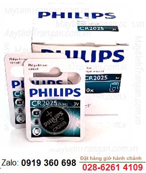Pin 3v Lithium Philips CR2025/ DL2025 chính hãng
