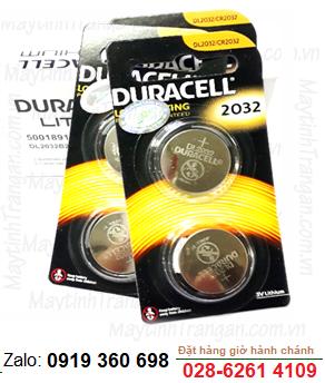 Duracell DL2032, Pin 3v lithium Duracell DL2032 chính hãng