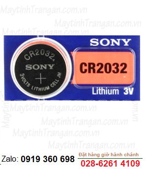 Pin Sony CR2032 lithium 3V chính hãng Sony Nhật