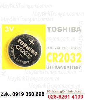 Pin 3v Lithium Toshiba CR2032 chính hãng