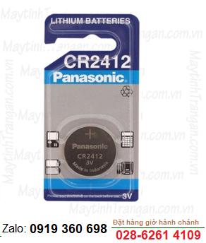 Pin Panasonic CR2412 lithium 3V chính hãng nhập khẩu