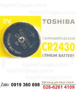 Pin 3V lithium Toshiba CR2430 chính hãng Toshiba
