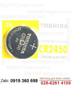 Pin 3V Lithium Toshiba CR2450 chính hãng Toshiba