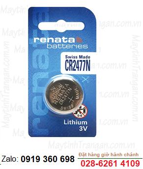Pin Renata CR2477N lithium 3V chính hãng Renata Made in Thụy Sĩ (Swiss)