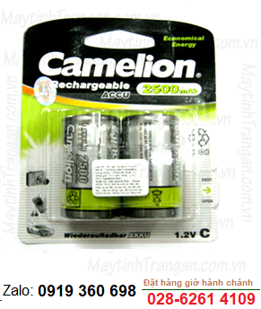 Camelion NH-C2500BP2; Pin sạc trung C 1.2v 2500mAh Camelion NH-C2500BP2