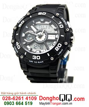 Q&Q DE10J501Y ; Đồng hồ Nam DE10J501Y chính hãng Q&Q Japan| CÒN HÀNG