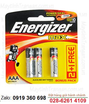 Energizer E92-BP3 (B2C1); Pin AA 1.5v Alkaline Energizer E92-BP3 (B2C1) Max PowerSeal