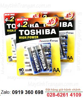 Toshiba LR6GCNN BP6; Pin AA 1.5V Alkaline Toshiba LR6GCNN BP6 (vỉ 6viên)