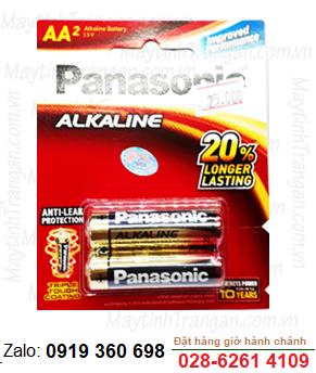 Panasonic LR6T(2B); Pin AA 1.5v Alkaline Panasonic LR6T(2B) Made in Thailand