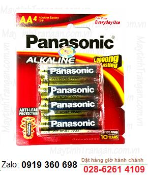 Panasonic LR6T(4B); Pin AA 1.5v Alkaline Panasonic LR6T(4B) Made in Thailand