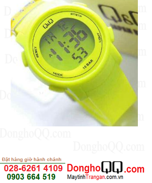 Q&Q M122J005Y; Đồng hồ Học sinh Nam-Nữ M122J005Y chính hãng Q&Q Japan| CÒN HÀNG