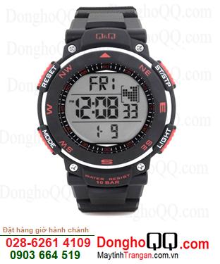 Q&Q M124J001Y; Đồng hồ điện tử M124J001Y chính hãng Q&Q Japan| CÒN HÀNG