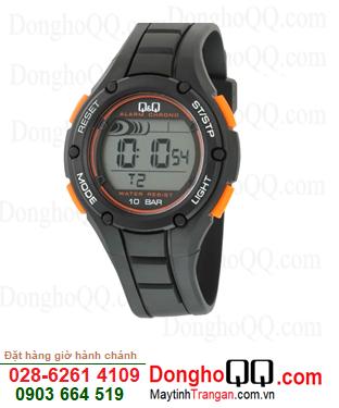 Q&Q M129J003Y; Đồng hồ điện tử M129J003Y chính hãng Q&Q Japan| CÒN HÀNG