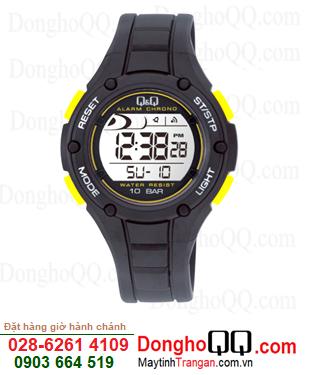 Q&Q M129J005Y; Đồng hồ điện tử M129J005Y chính hãng Q&Q Japan| CÒN HÀNG