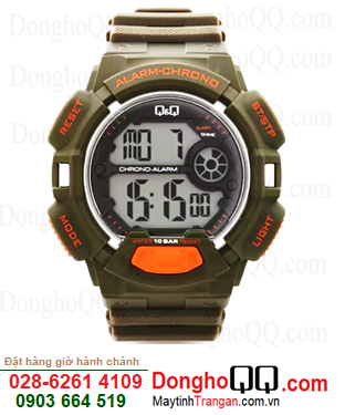 Q&Q M132J002Y; Đồng hồ điện tử M132J002Y chính hãng Q&Q Japan| CÒN HÀNG