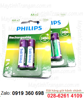 Philips R6B2A245/97; Pin sạc AA 2450mAh 1.2v Philips R6B2A245/97