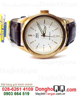 Q266J101Y; Đồng hồ Nam dây Da Q266J101Y chính hãng Q&Q Japan| CÒN HÀNG