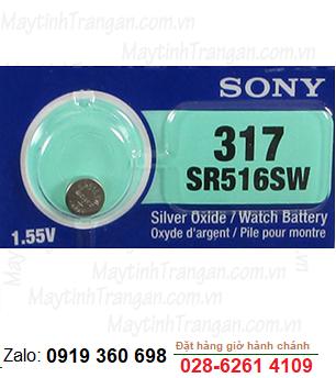 Pin đồng hồ 1,55v Sony SR516SW-317 chính hãng Sony thay pin đồng hồ các hãng