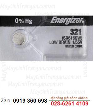 Pin đồng hồ đeo tay 1,55v Silver Oxide Energizer 361, SR616SW chính hãng Made in USA